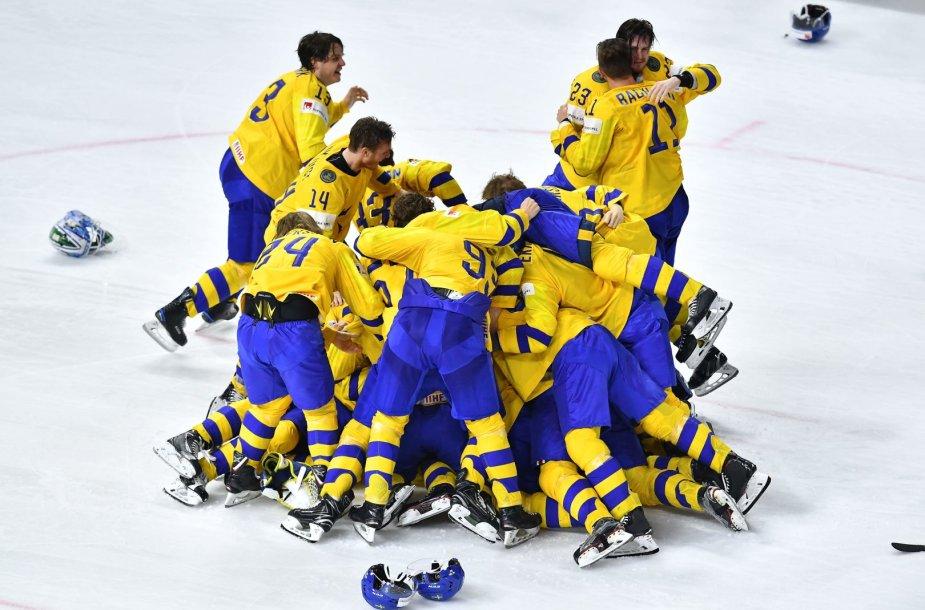 Švedijos ledo ritulio rinktinė