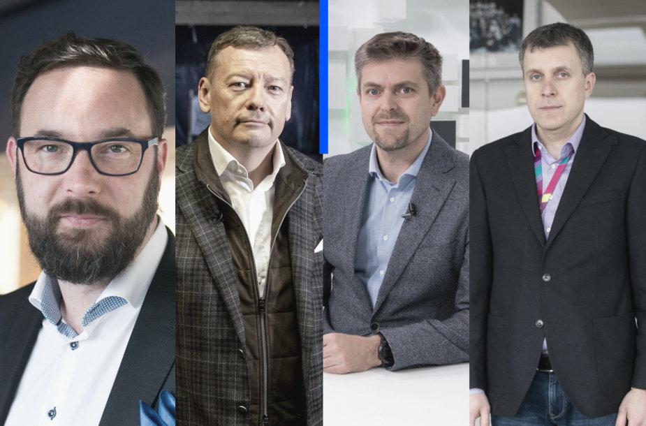 Kristijonas Kaikaris, Andrius Šemeškevičius, Ilja Laursas, Vidmantas Janulevičius