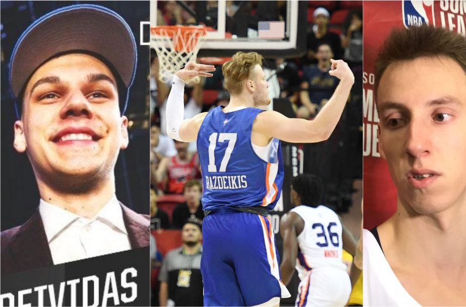 Trys lietuviai baigė pasirodymą NBA vasaros lygoje