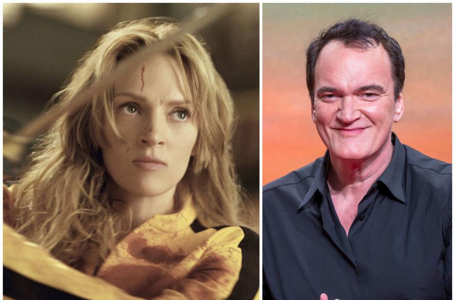 """Uma Thurman filme """"Nužudyti Bilą"""", režisierius Quentinas Tarantino"""