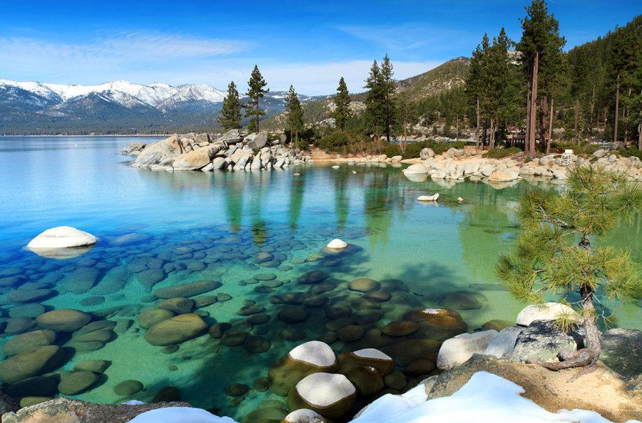 8. Taho ežeras, Kalifornija ir Nevada