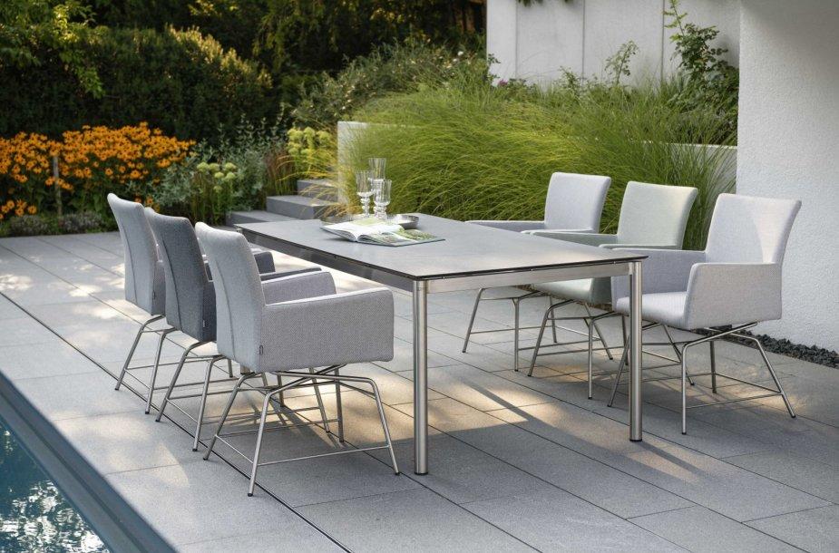 Lauko baldai: svarbiausia – funkcionalumas ir medžiagų kokybė