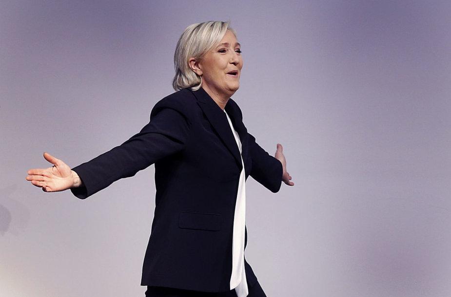 NF vadovė Marine Le Pen