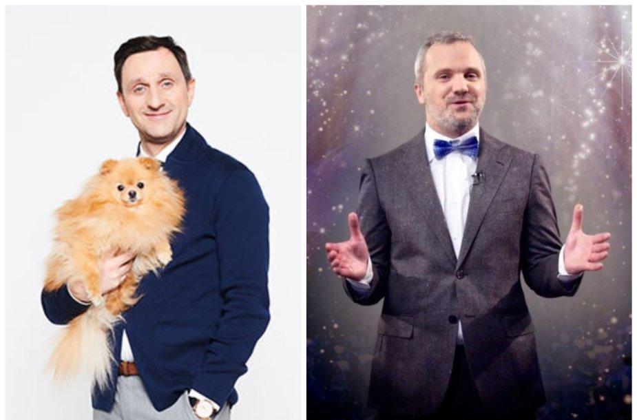 Dainius Kazlauskas ir Giedrius Savickas