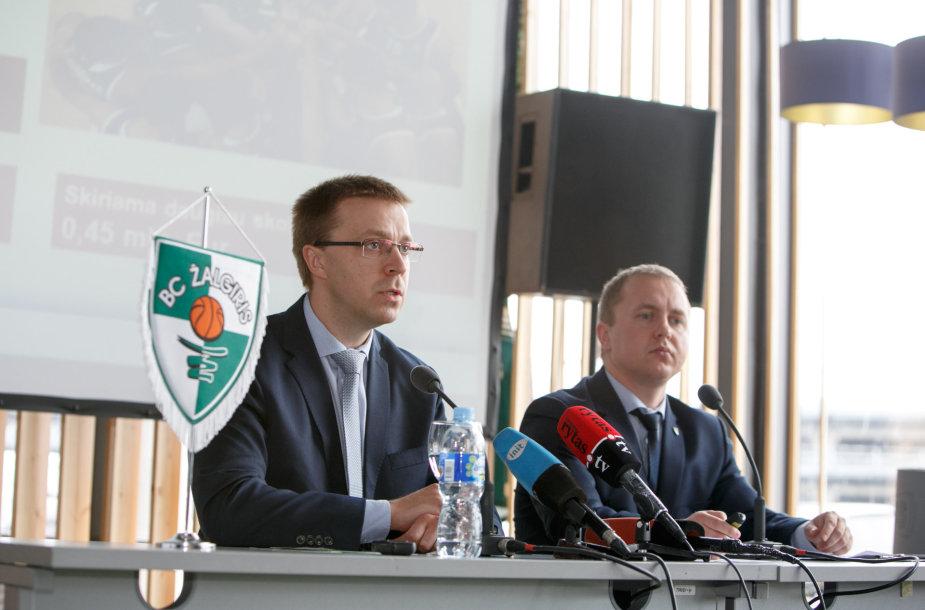 Paulius Motiejūnas ir Almantas Kiveris