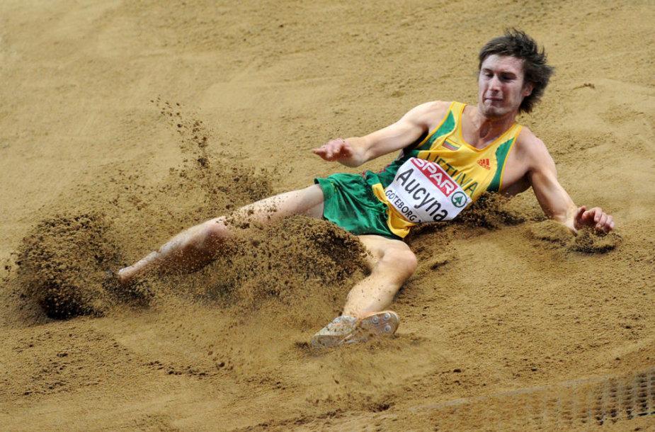 Darius Aučyna Europos čempionate