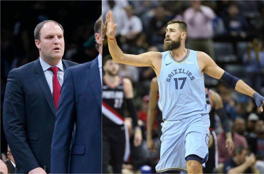 Naujasis J.Valančiūno treneris T.Jenkinsas amžiumi lenkia tik vieną NBA trenerį