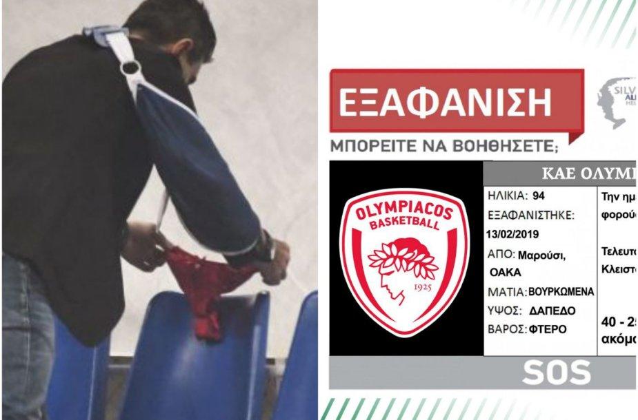 """""""Panathinaikos"""" ir """"Olympiakos"""" rungtynės virto skandalu"""