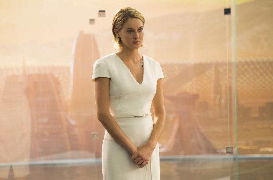 """Shailene Woodley filme """"Divergentės serija: lojalioji"""""""