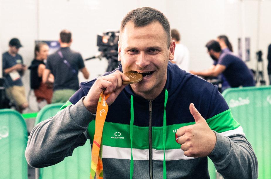 Mindaugas Bilius Rio parolimpiadoje