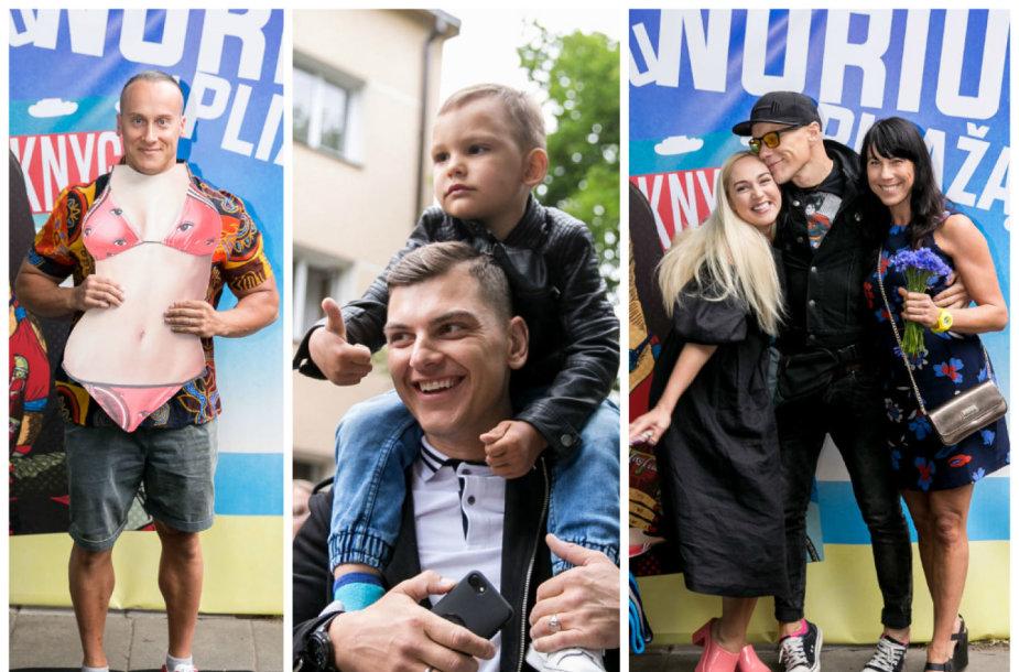 Andrius Pauliukevičus, Rolandas Mackevičius su sūnumi Motiejumi, Indrė Stonkuvienė, Algis Kriščiūnas, Jurga Baltrukonytė