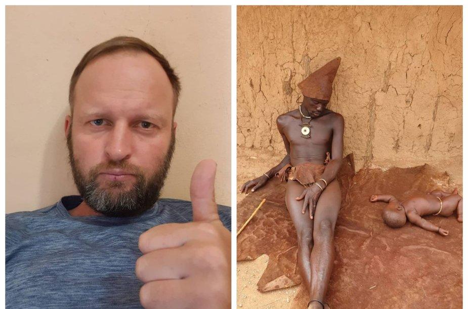 Dano Pankevičiaus kelionė Angoloje