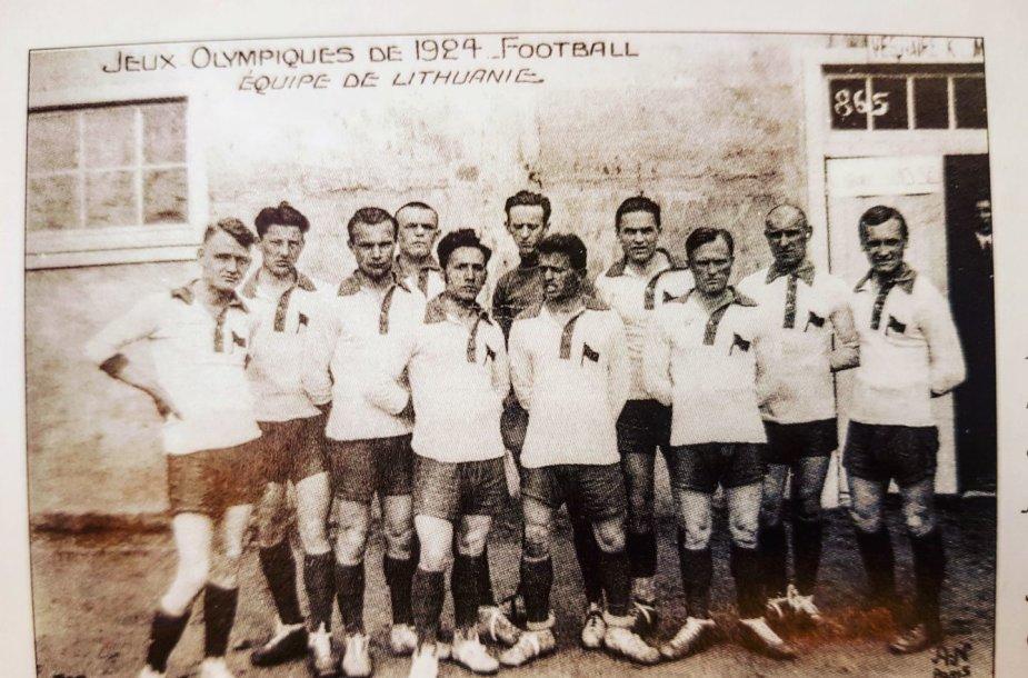 Lietuvos 1924 metų futbolo rinktinė Paryžiaus olimpinėse žaidynėse