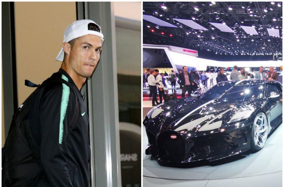 C.Ronaldo įsigijo brangiausią pasaulio automobilį
