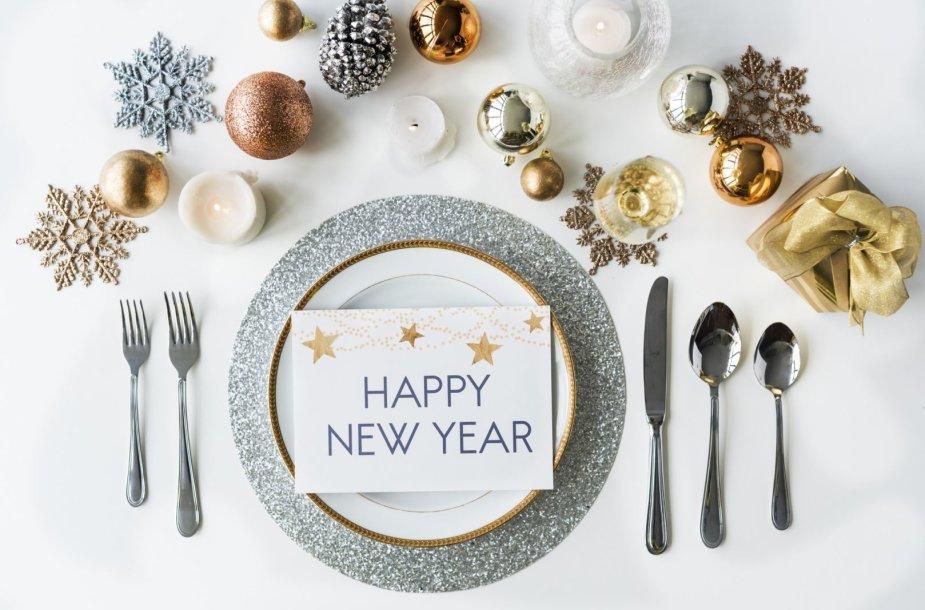 Naujųjų metų stalas