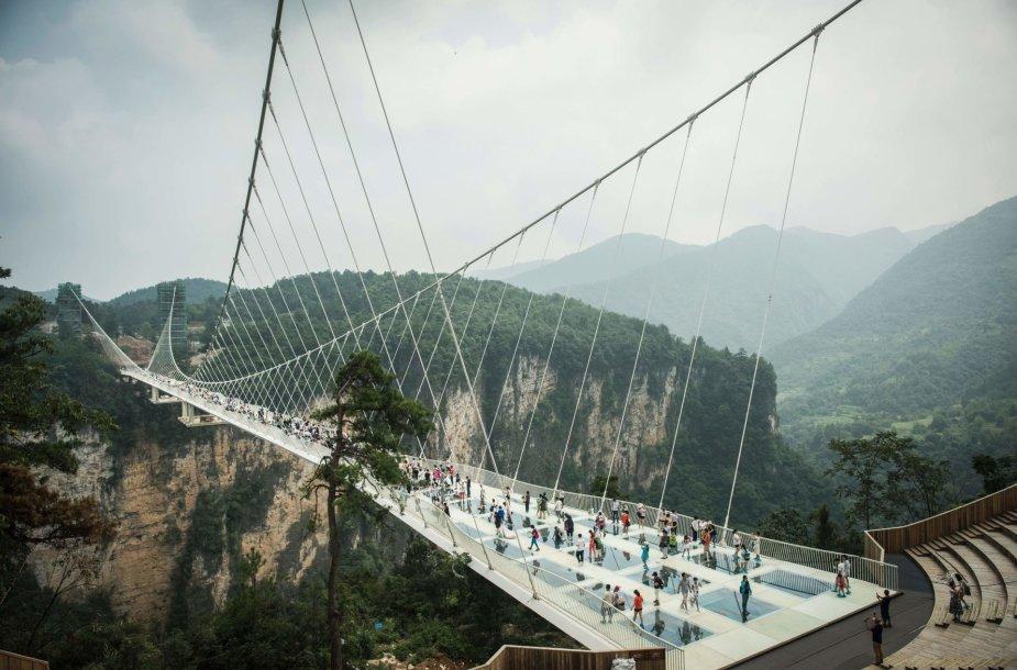 Aukščiausias pasaulyje stiklo tiltas