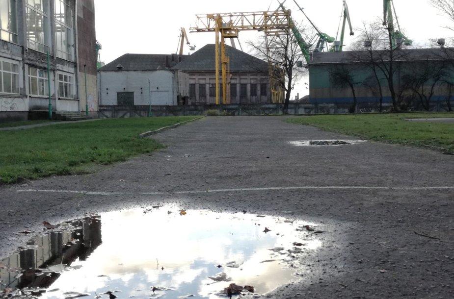 Kai kurių mokyklų stadionai atrodo apverktinai.