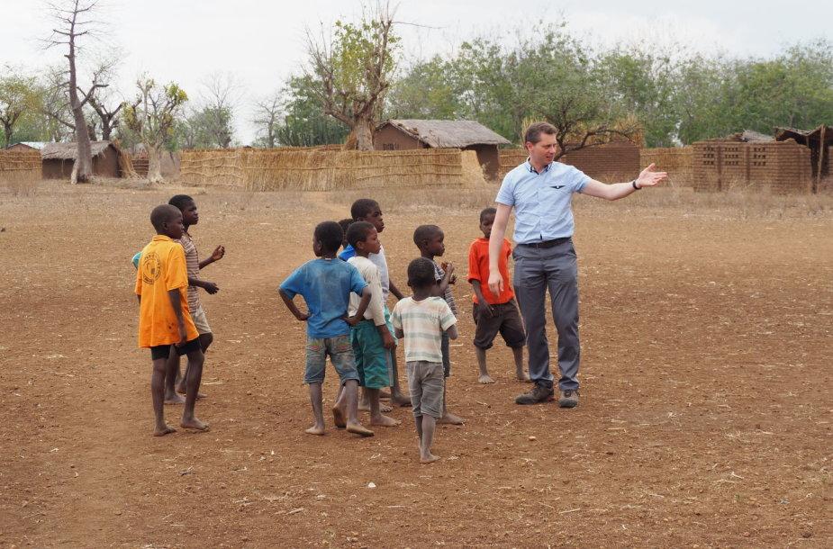 Ričardas Doveika UNICEF misijoje Malavyje
