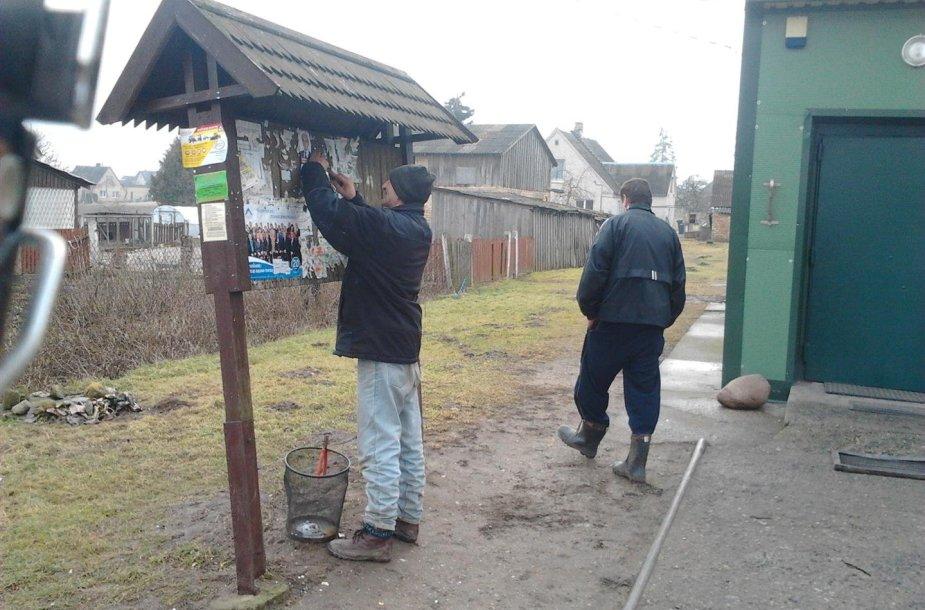 Balsavimo pažeidimai Šiaulių rajone