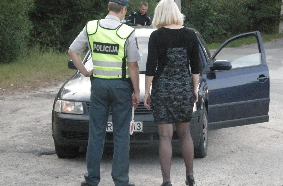 Rytinis Kauno policijos reidas