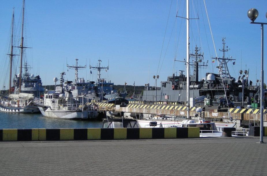 NATO laivai Klaipėdos uoste