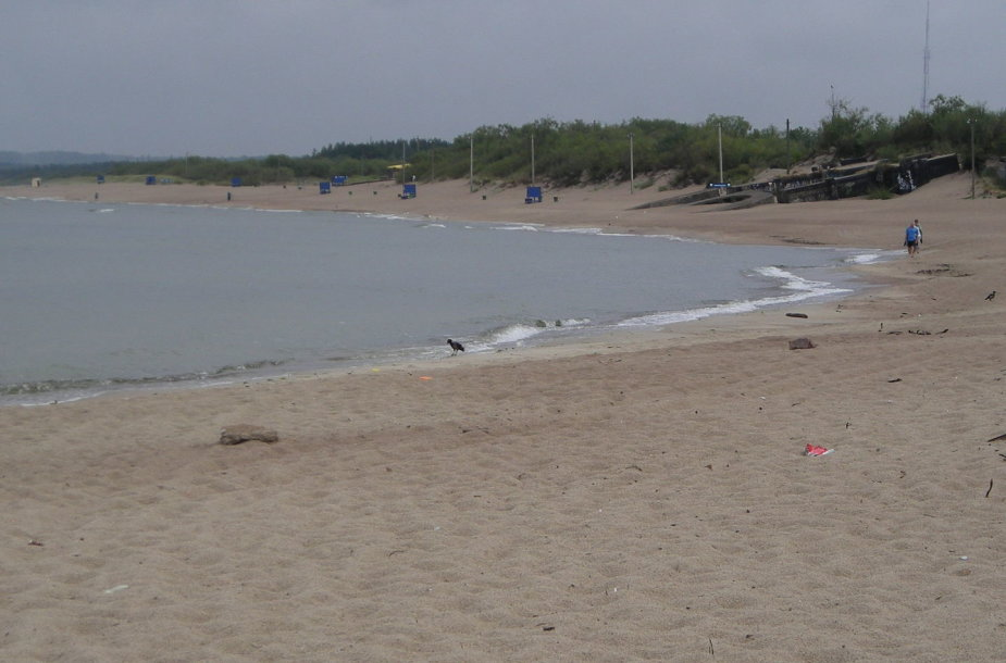 Pajūryje atokvėpis – prapliupęs lietus iš pliažų išvaikė vasarotojus