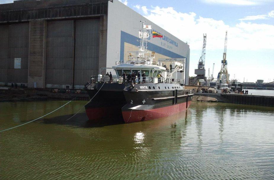 Naujojo Klaipėdos universiteto mokslinio laivo išlaikymas per metus pareikalaus maždaug 1 mln. litų.