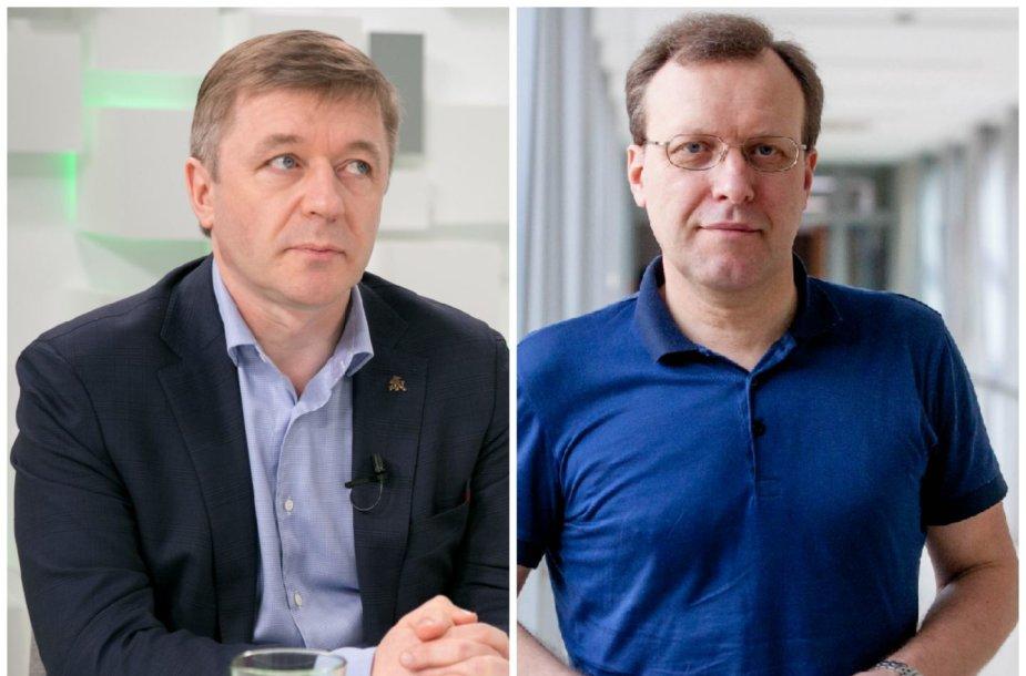 Ramūnas Karbauskis ir Naglis Puteikis