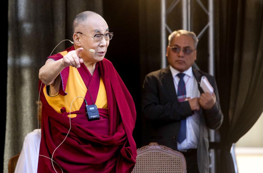 Dalai Lamos paskaita Vilniaus universitete