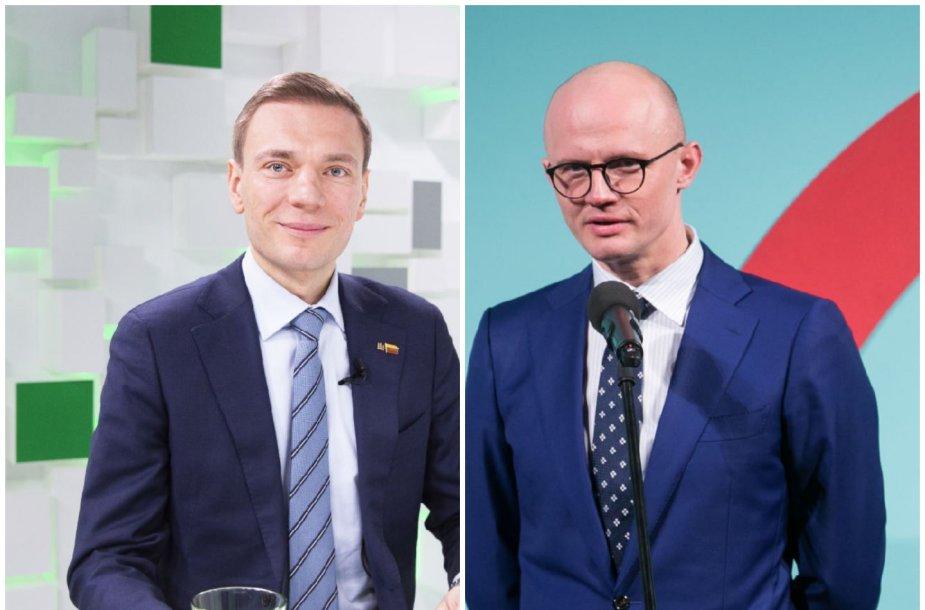 Mindaugas Puidokas ir Edmundas Jakilaitis