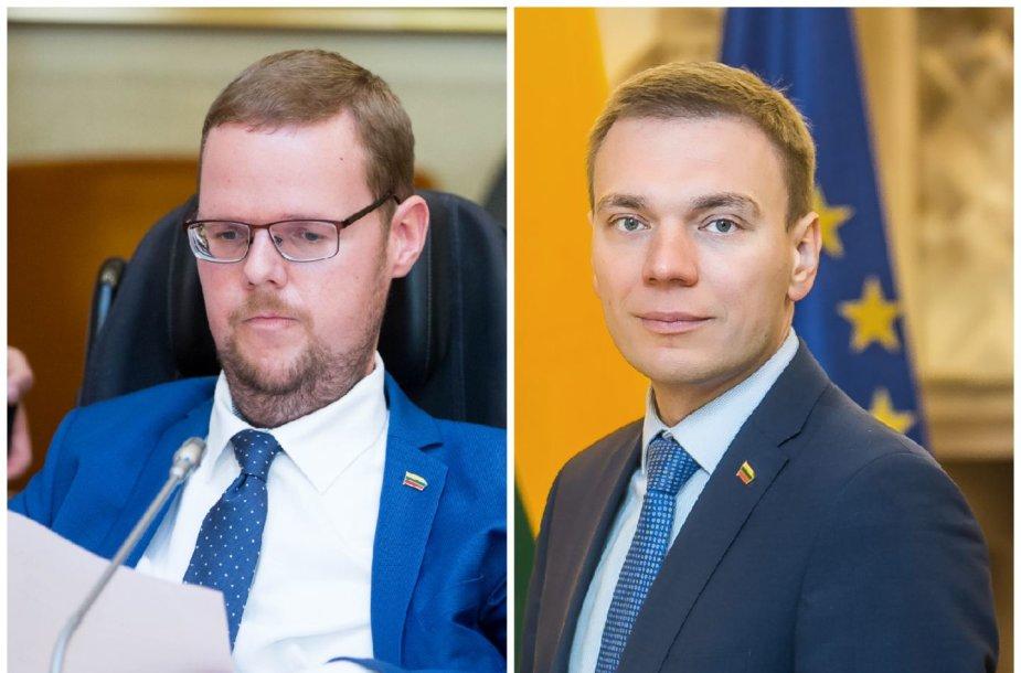 Justas Džiugelis ir Mindaugas Puidokas