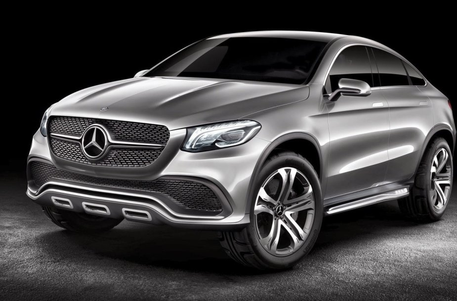 """Mercedes-Benz"" MLC konceptinis modelis"