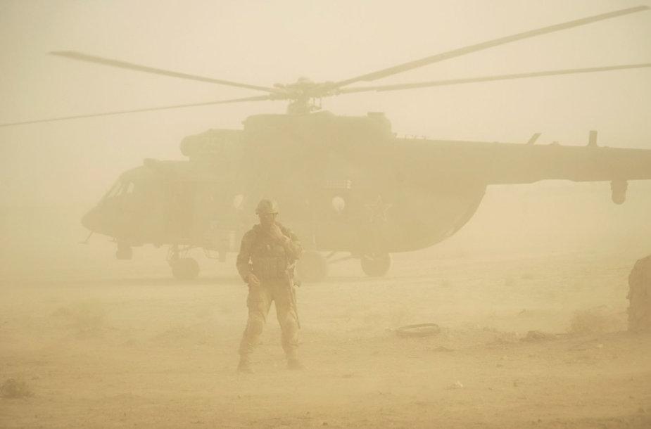 Rusijos kariai Sirijoje, ties Deir ez Zoru