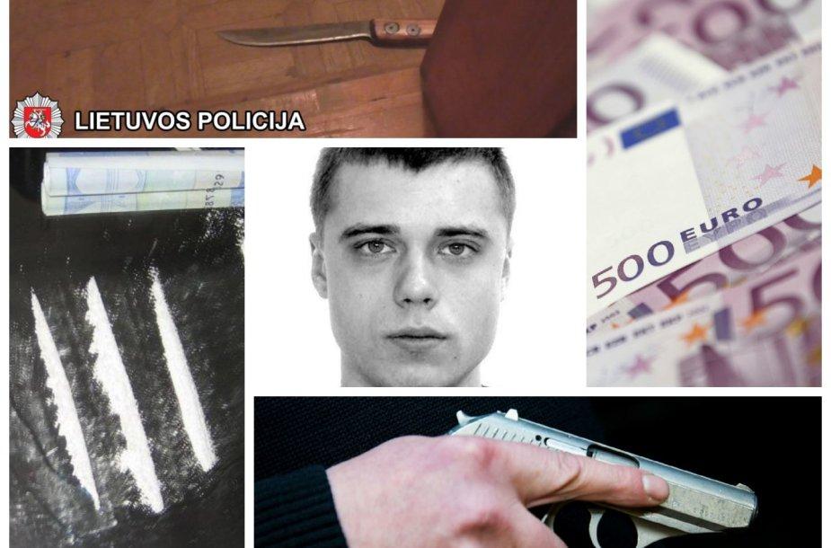 Narkotikai, padirbti pinigai, ginklai ir Jonas Baronas