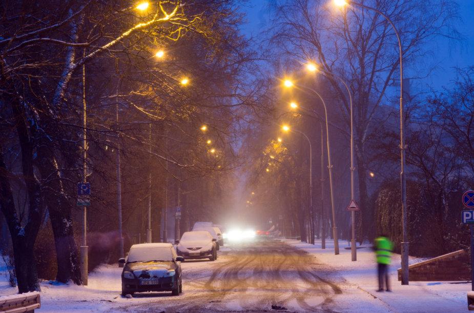 Žiemos popietė Vilniuje