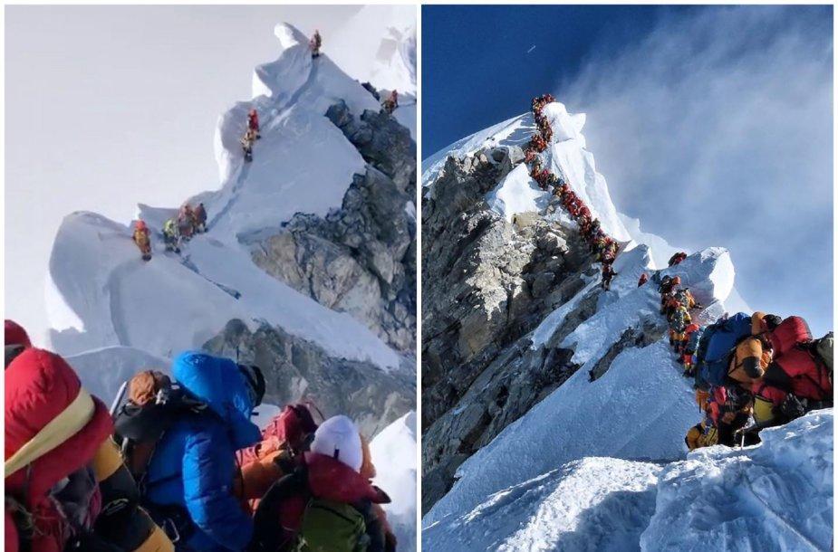 Spūstys ant Everesto