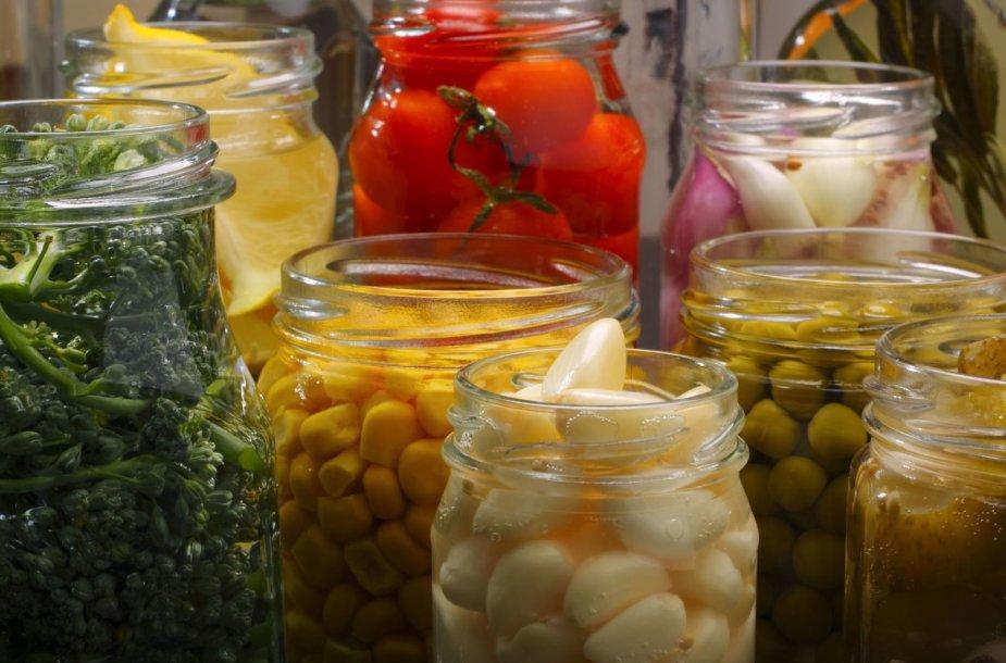 Raugintos daržovės