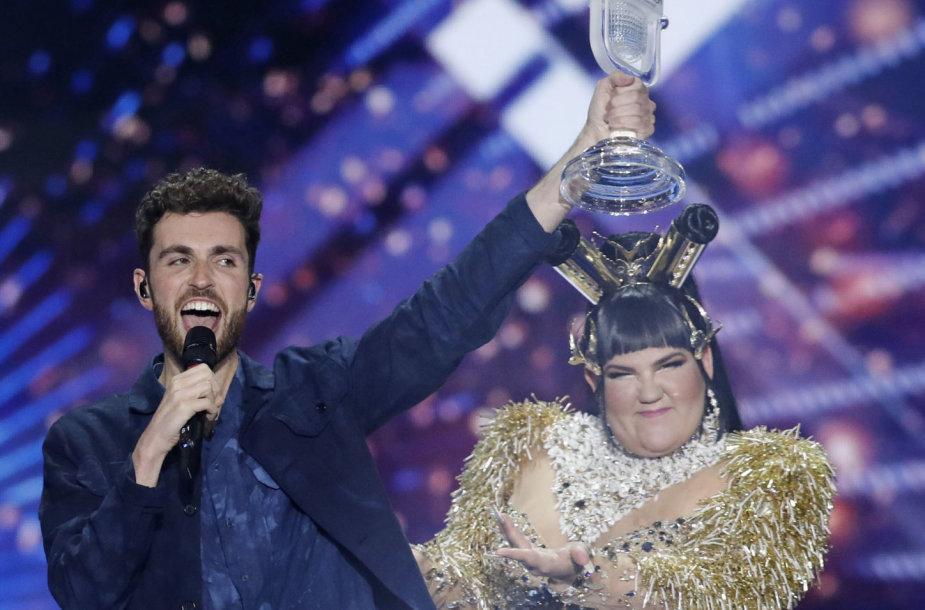 """Nyderlandų atstovas Duncanas Laurence'as, nugalėjęs """"Eurovizijoje"""""""
