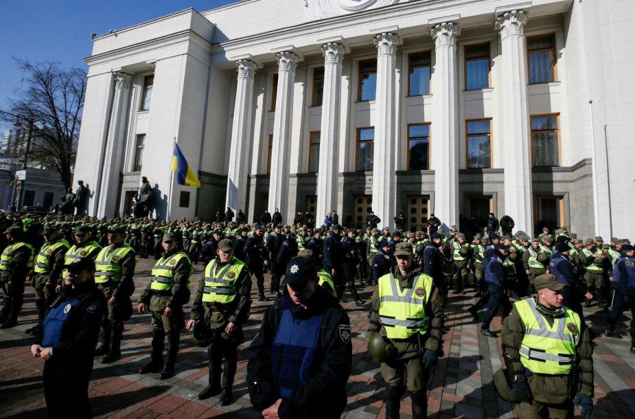 Masinis protestas Kijeve