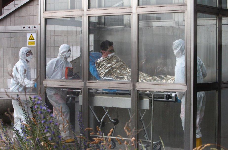 Slovakijos sostinėje Bratislavoje į ligoninę buvo paguldytas vyras iš Pietų Korėjos, kuris, kaip manoma, užsikrėtė MERS virusu.