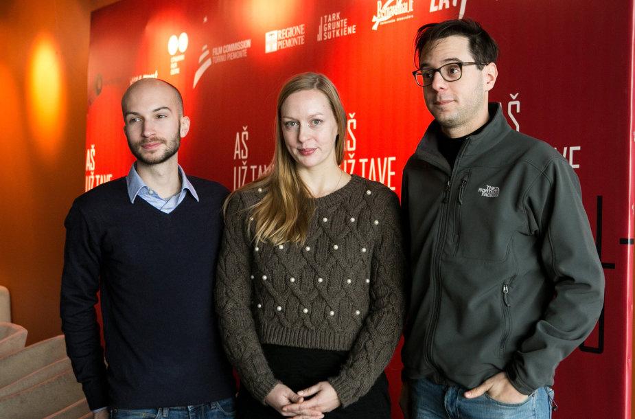Virginija Vareikytė , Maxì Dejoie ir Federico Torres