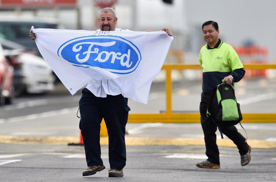 "Uždaroma ""Ford"" gamykla Melburne"
