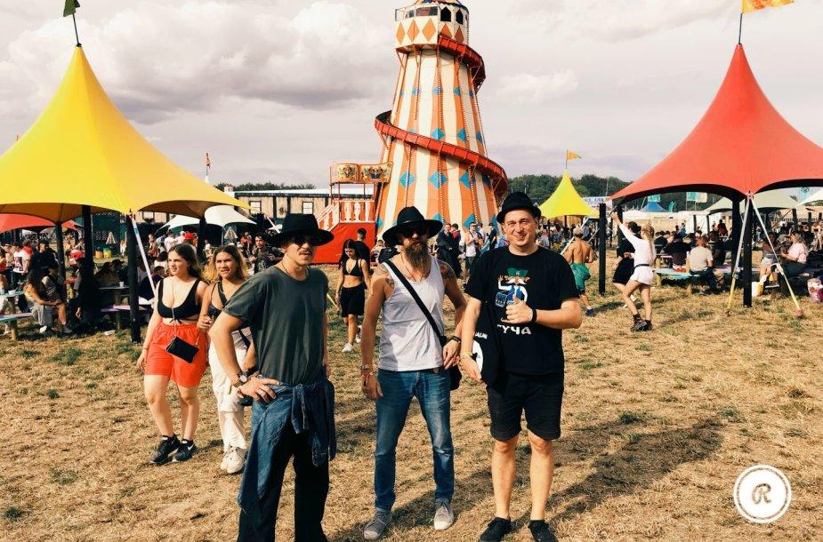 """Baltic Balkan"" ""Boomtown Fair"" festivalyje Anglijoje"