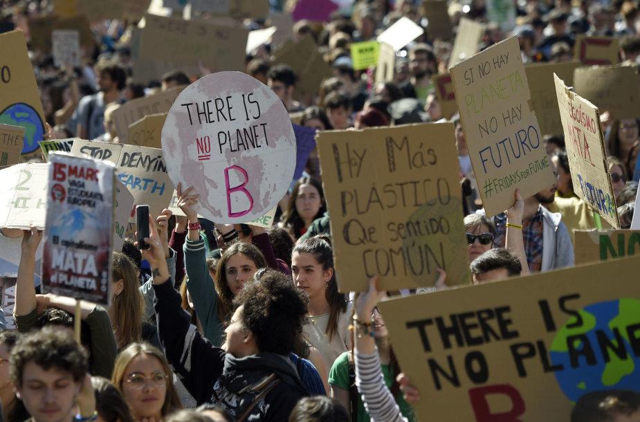 Pasaulinė jaunimo demonstracija už klimatą
