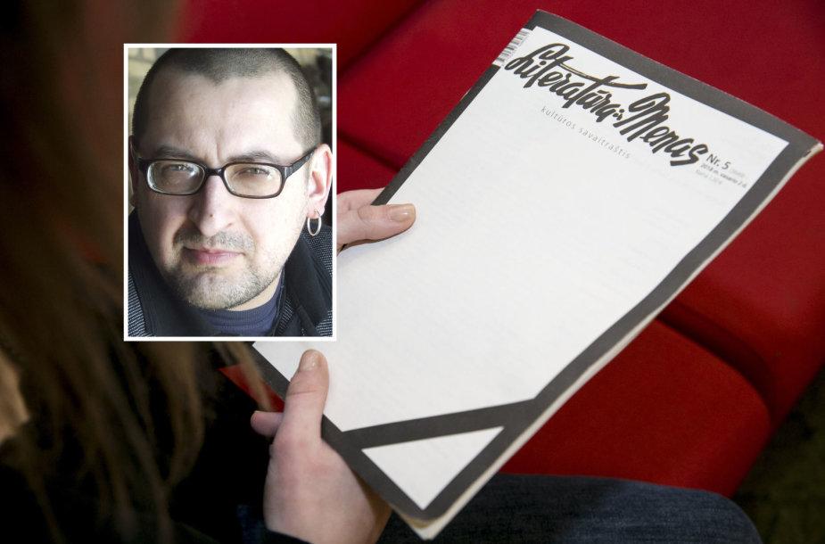 """Gytis Norvilas ir jo redaguojamas kultūros savaitraštis """"Literatūra ir menas"""""""
