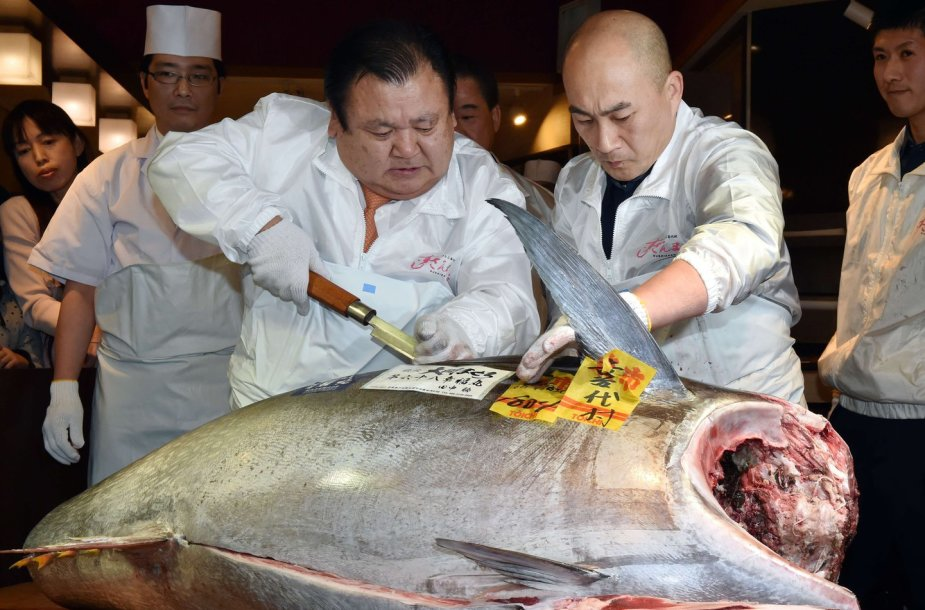 Tokijo žuvų aukcionas