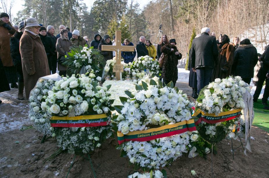 Virgilijaus Noreikos laidotuvės