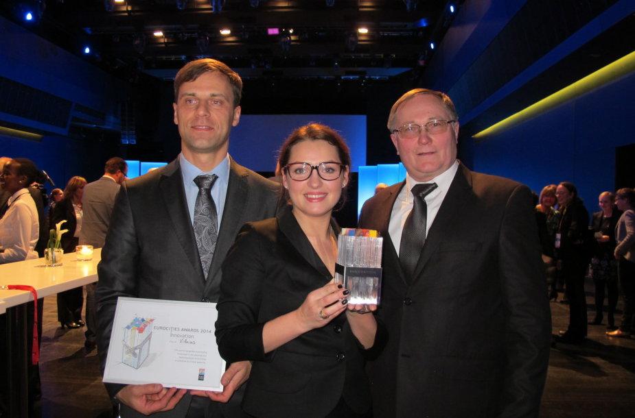 Apdovanojimas Miunchene
