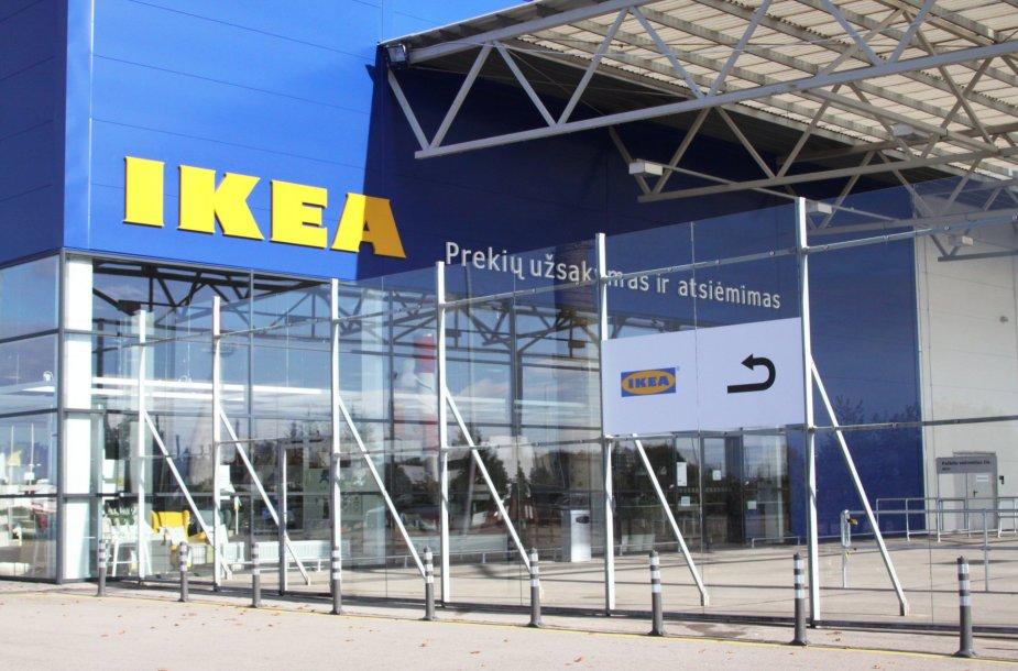 Klaipėdoje - pirmasis IKEA prekių užsakymo ir atsiėmimo punktas.