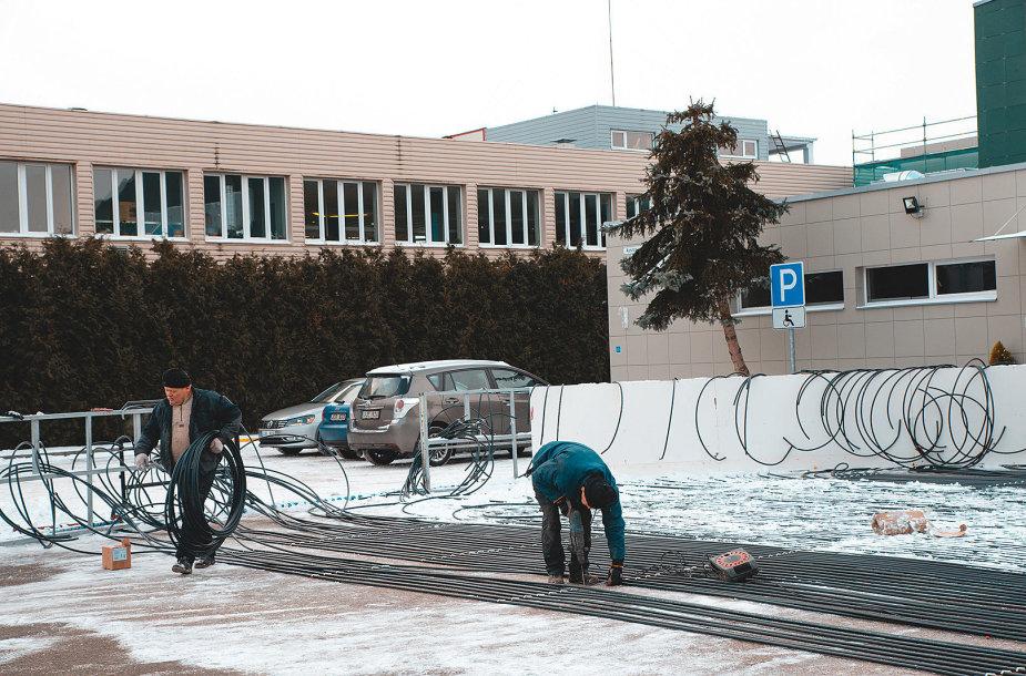 Kaune netrukus bus atidaryta čiuožykla